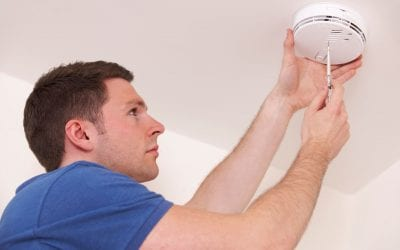 Proper Smoke Detector Placement in the Home