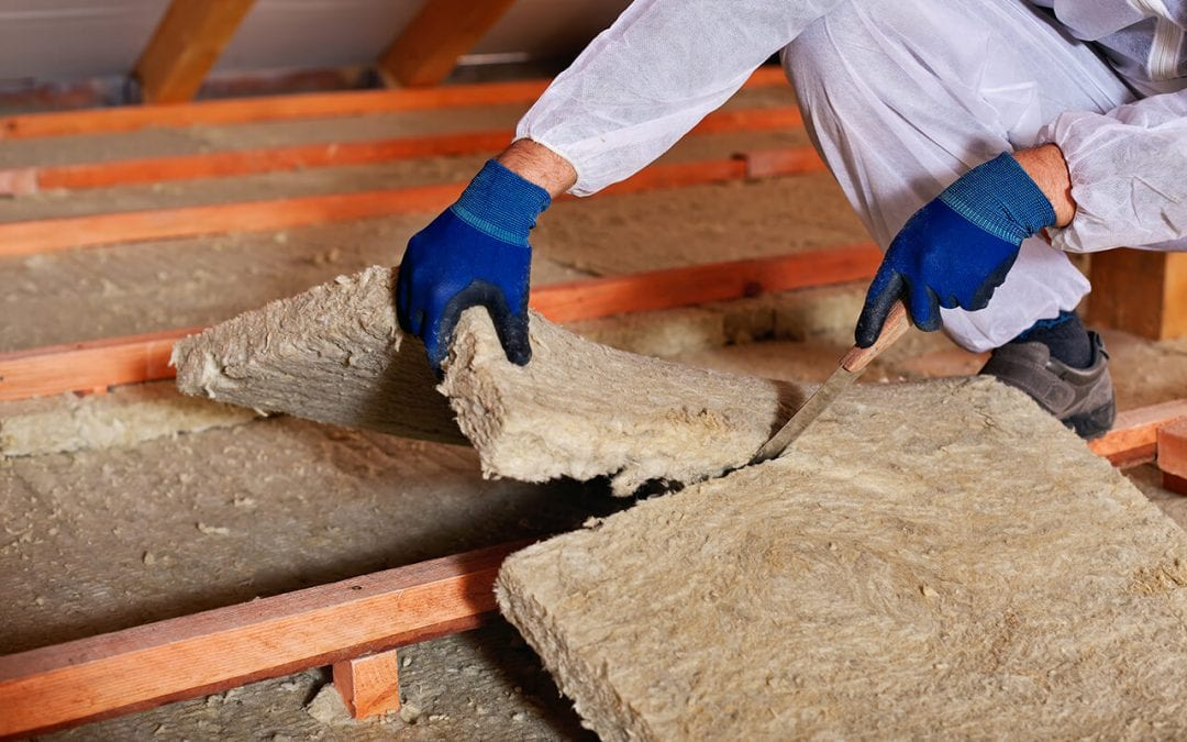 save energy in the home by adding insulation